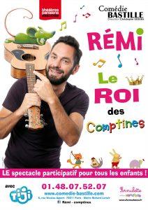 Affiche Le Roi des Comptines - Comedie Bastille
